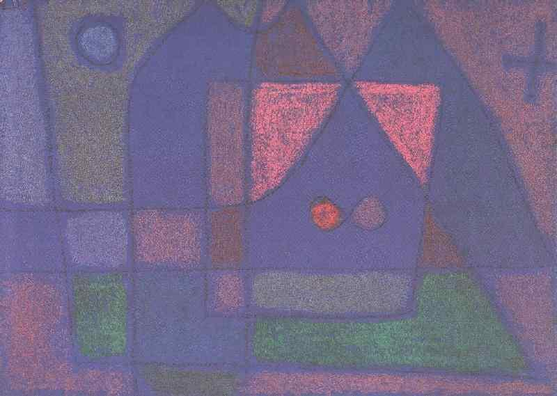 Small room in Venice - Paul Klee