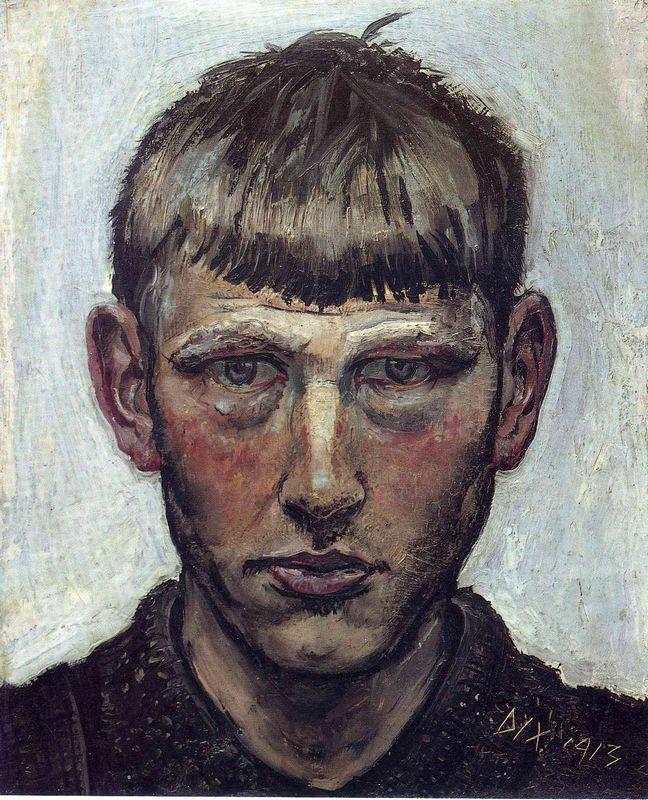 Small Self-Portrait - Otto Dix