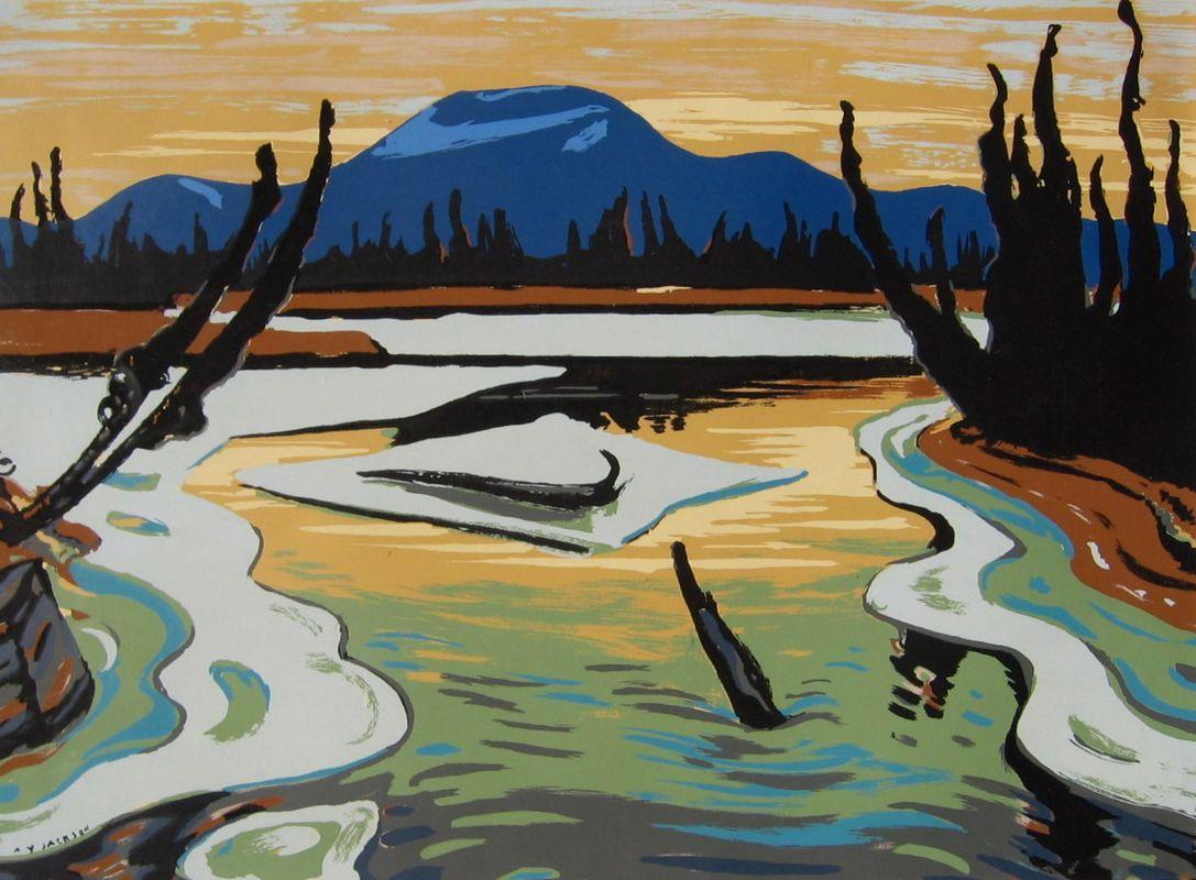 Smart River (Alaska) - A.Y. Jackson