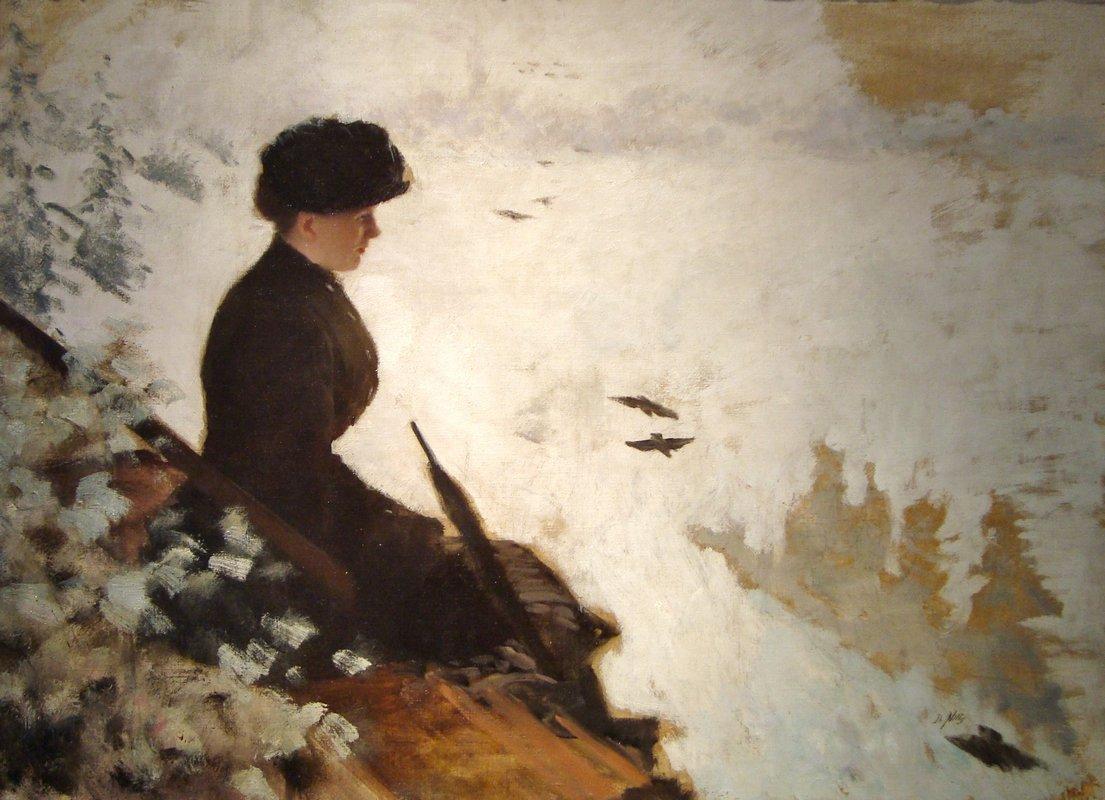 Snow Effect - Giuseppe de Nittis