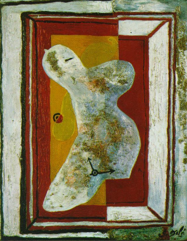 Soft Nude (Nude Watch) - Salvador Dali