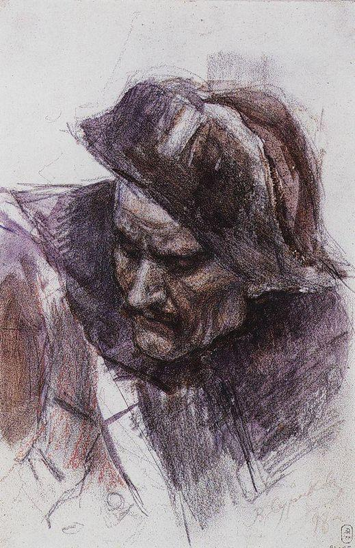 Soldier - Vasily Surikov