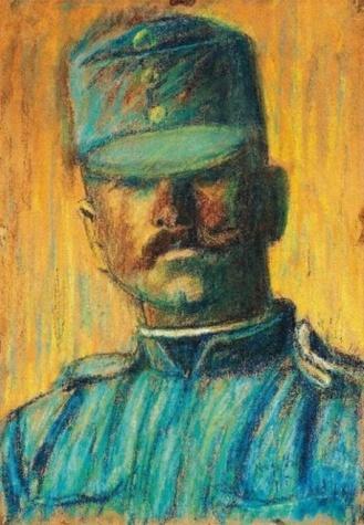 Soldier head - Istvan Nagy