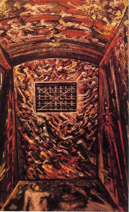 Solitary Confinement - David Alfaro Siqueiros
