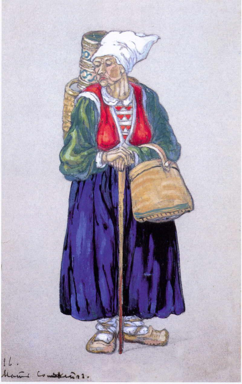Solveig's mother - Nicholas Roerich