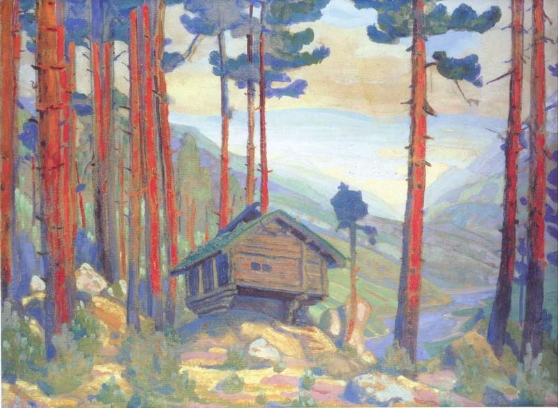 Solveig's Song (Hut in the forest) - Nicholas Roerich