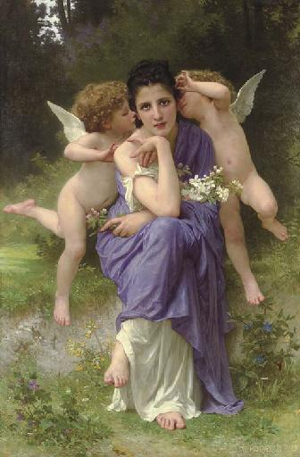 Songs of Spring - William-Adolphe Bouguereau
