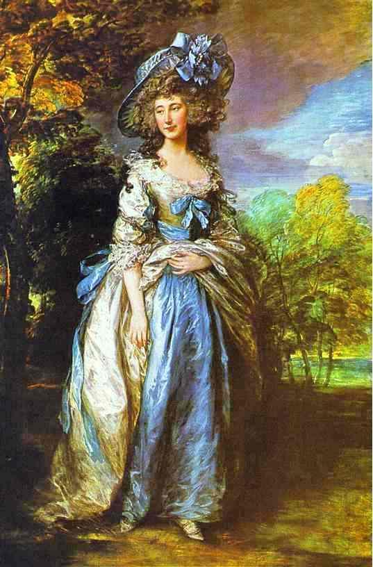 Sophia Charlotte, Lady Sheffield - Thomas Gainsborough