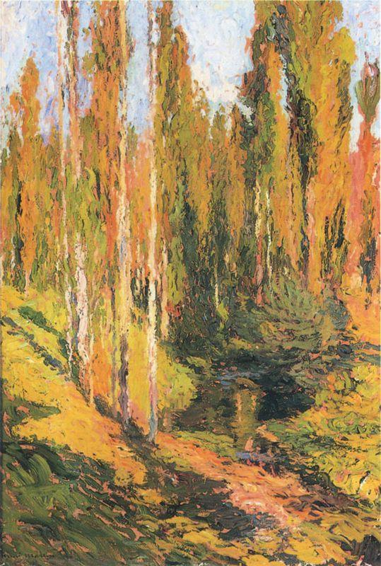 Sous Bois - Henri Martin