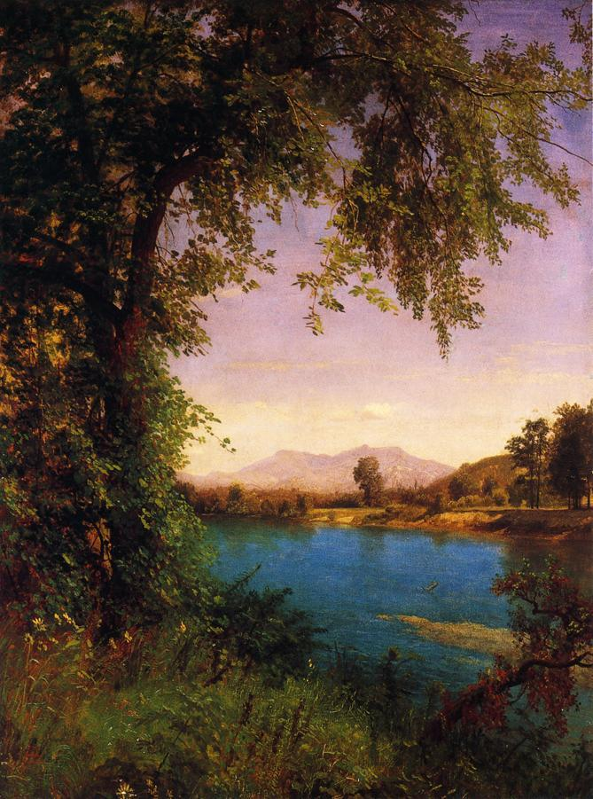 South and North Moat Mountains - Albert Bierstadt