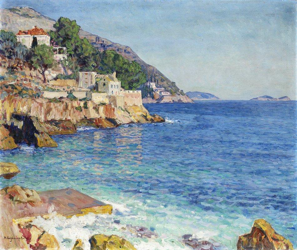 Southern Seascape - Nikolay Bogdanov-Belsky