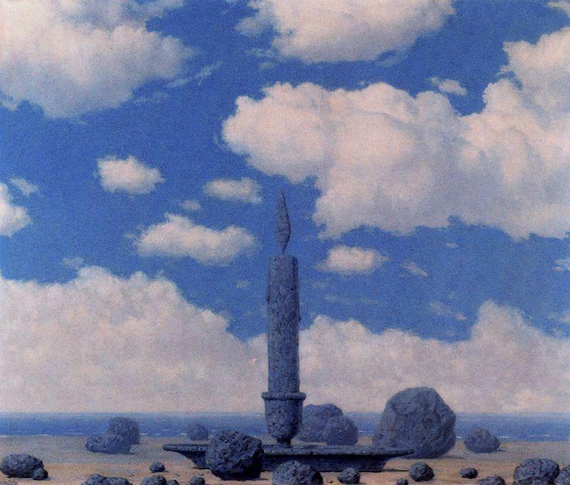 Souvenir from travels - Rene Magritte