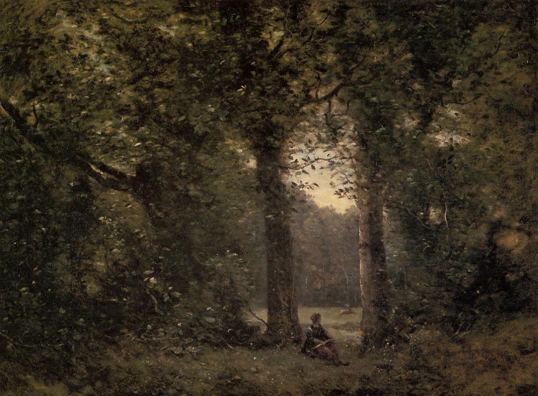 Souvenir of Ville d'Avray - Camille Corot