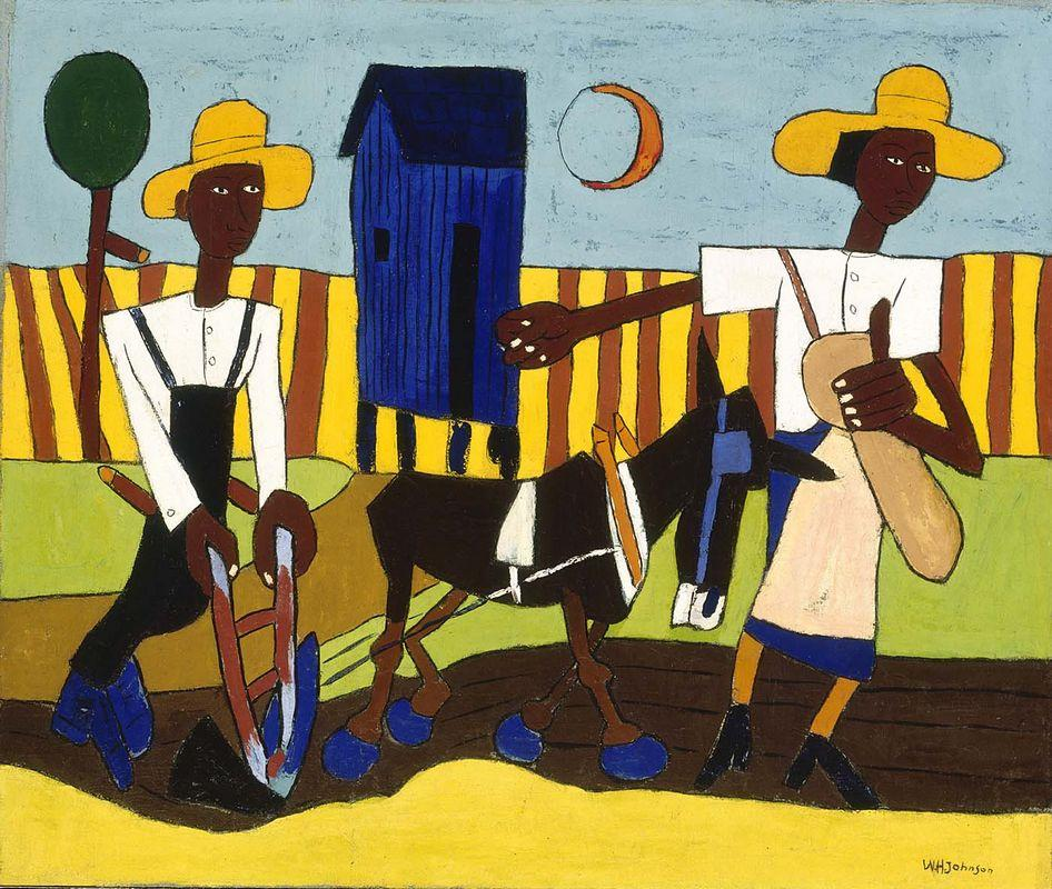 Sowing - William H. Johnson