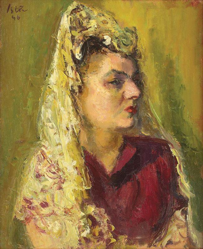The Spanish Woman - Iosif Iser