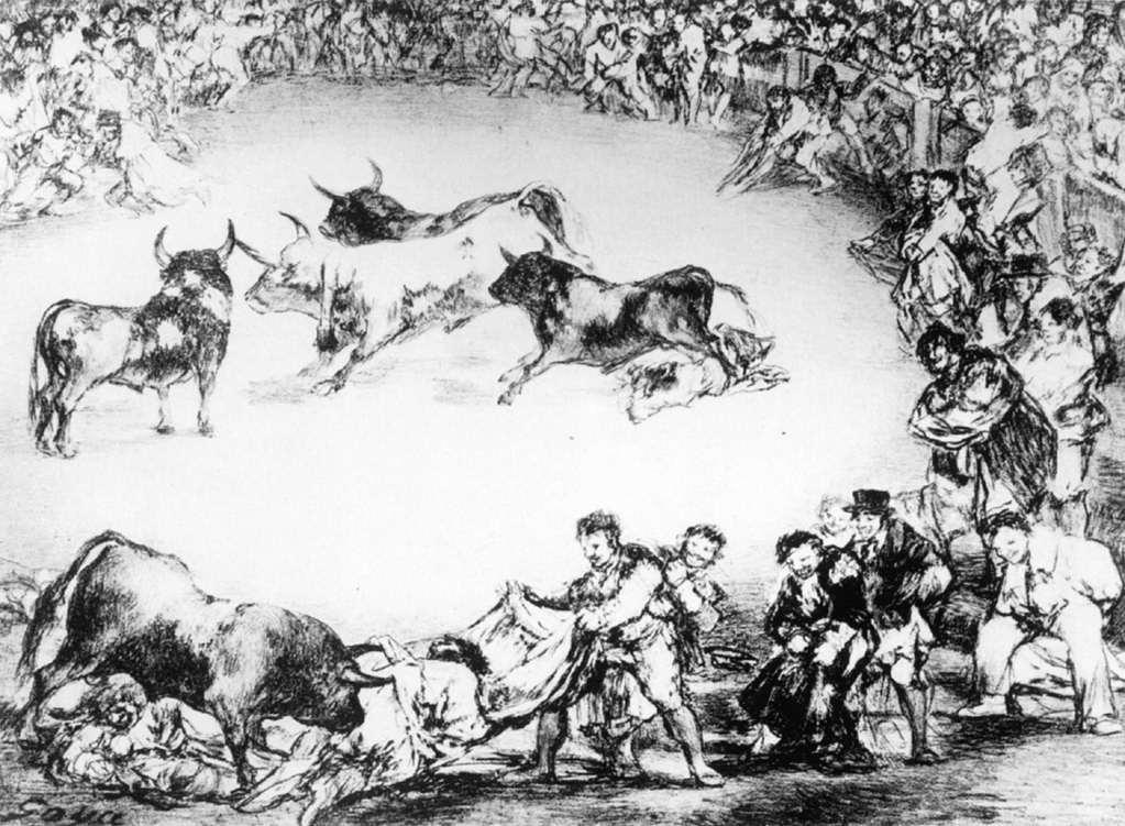 Spanish Entertainment - Francisco Goya