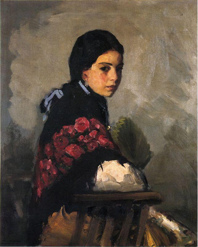 Spanish Girl  - Robert Henri
