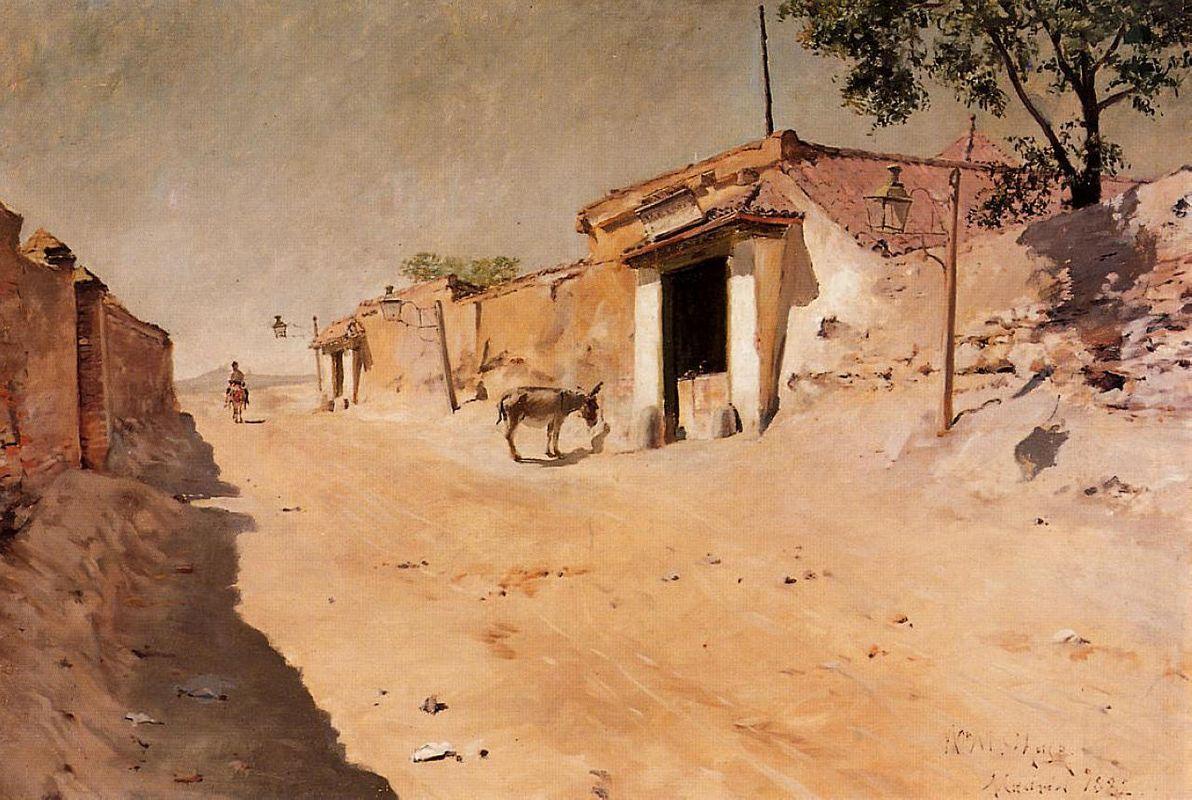 Spanish Village - William Merritt Chase
