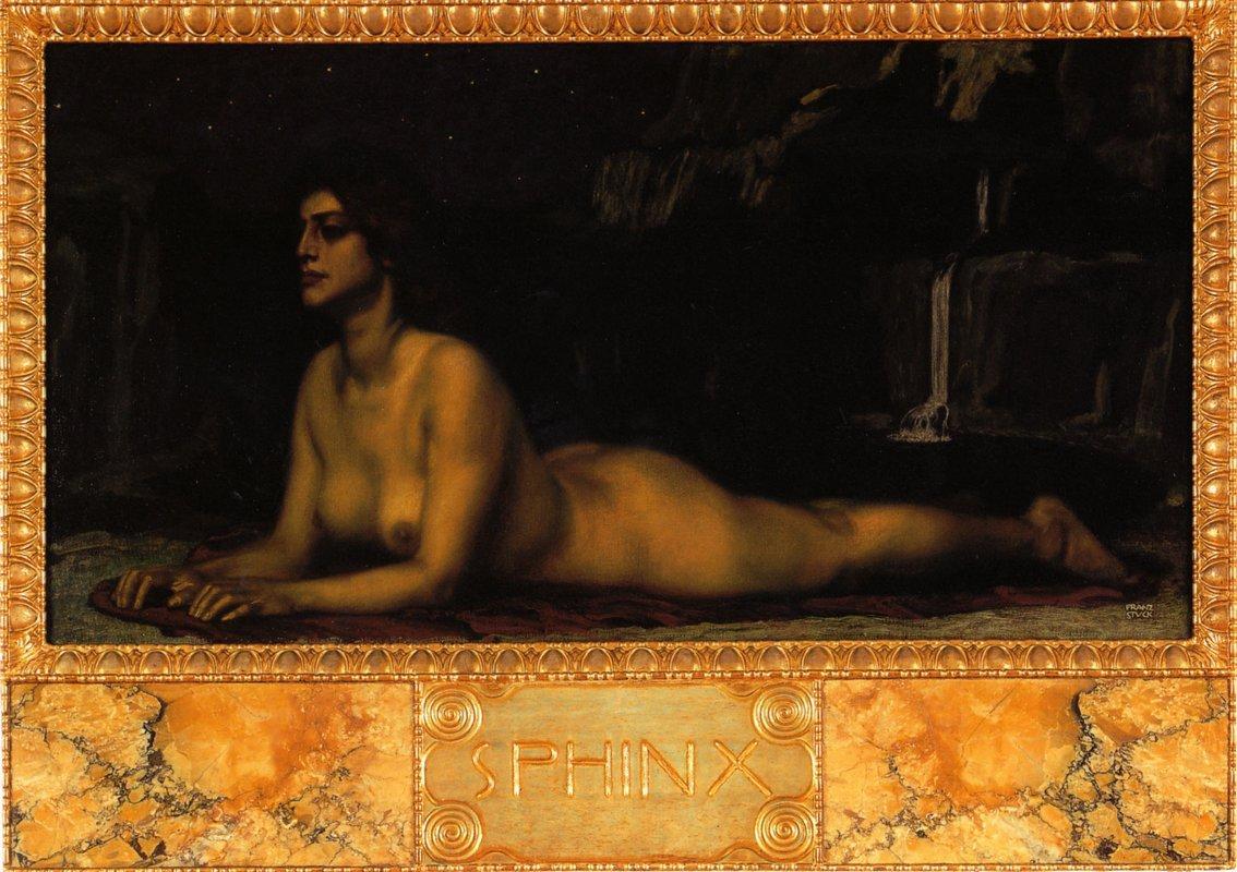 Sphinx - Franz Stuck