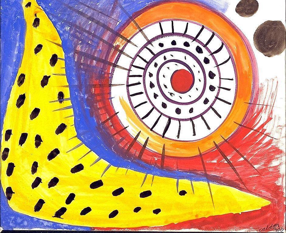 Spiral Composition  - Alexander Calder