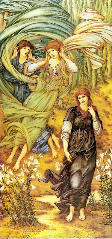 Spona de Libano - Edward Burne-Jones