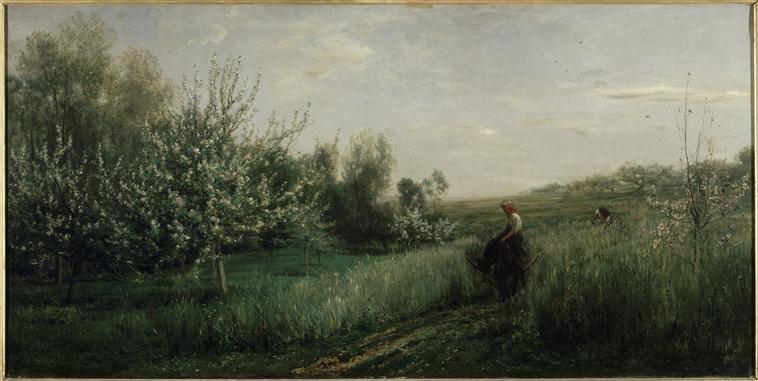 Spring - Charles-Francois Daubigny