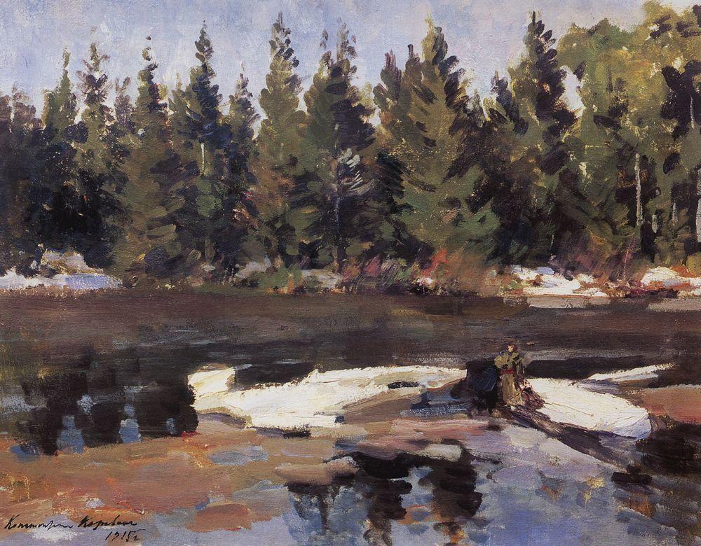 Spring  - Konstantin Korovin