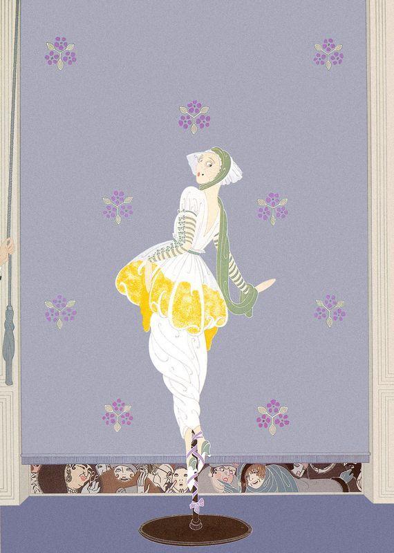 Spring Fashions - Erte