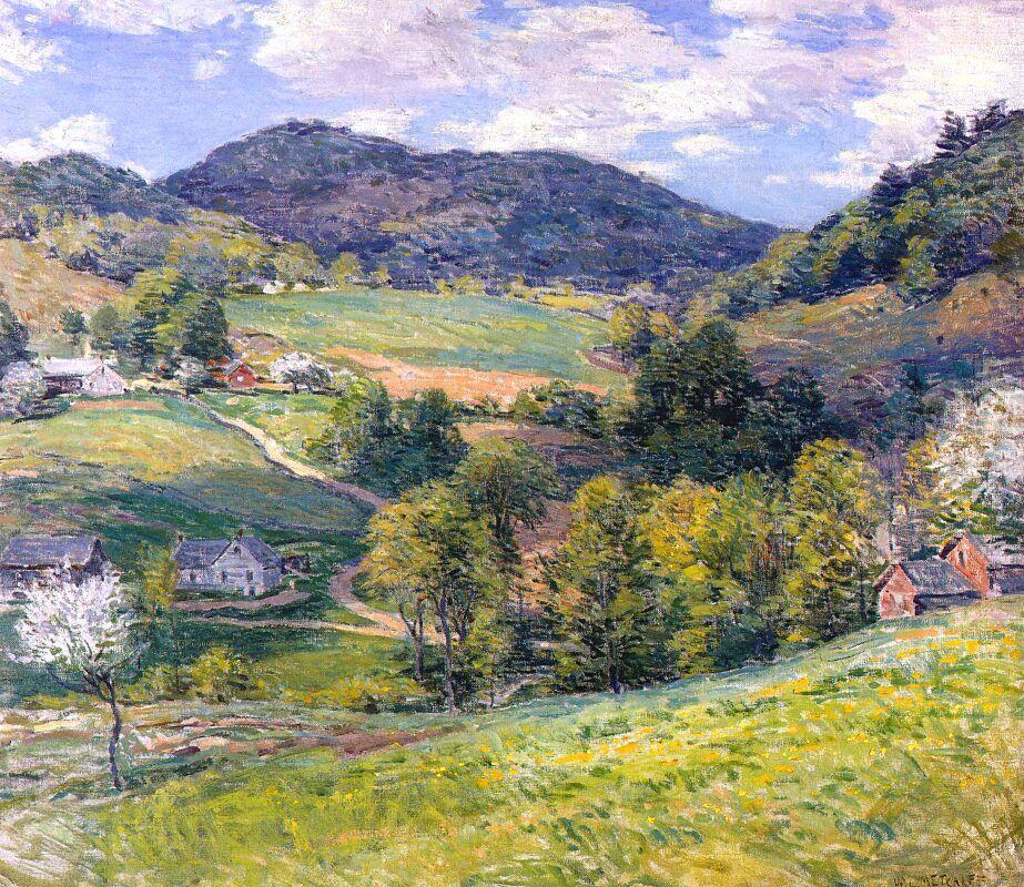 Spring in the Valley - Willard Metcalf
