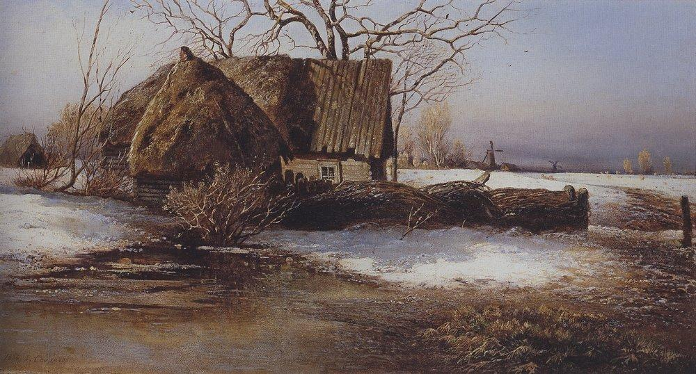 Spring is coming - Aleksey Savrasov
