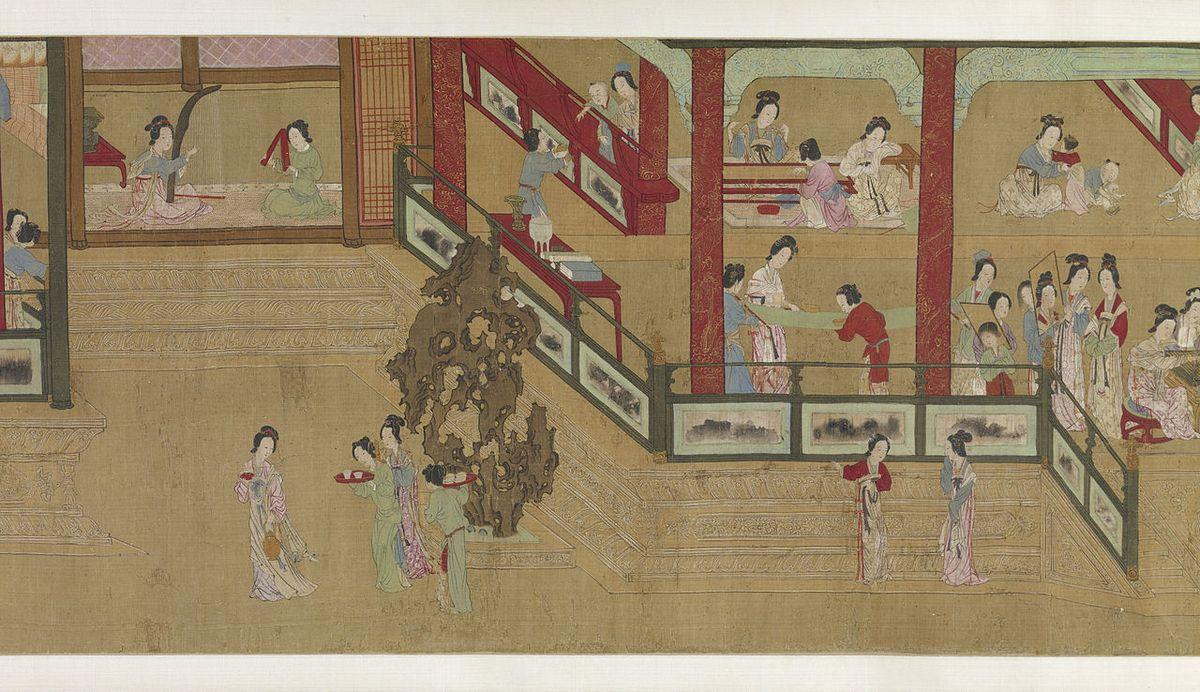 Spring Morning in the Han Palace (View H) - Qiu Ying