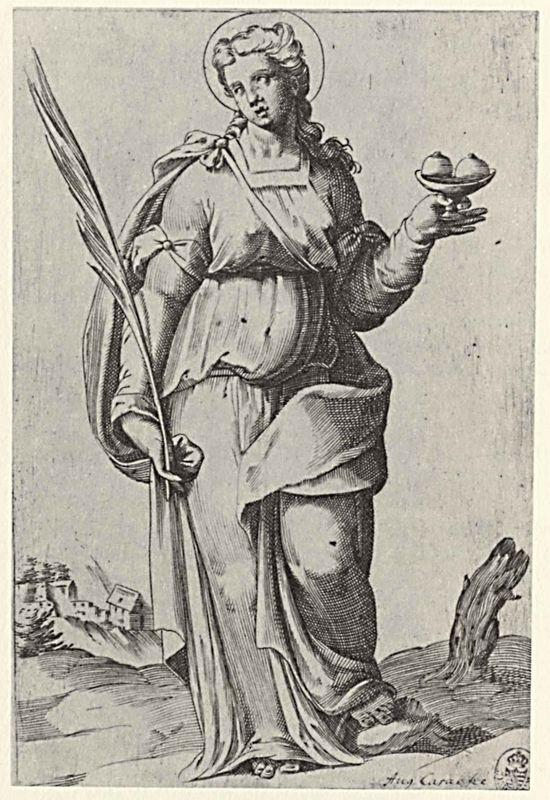 St. Agatha, from the episode