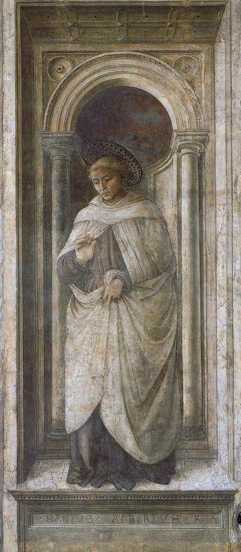 St. Alberto of Trapani - Filippo Lippi