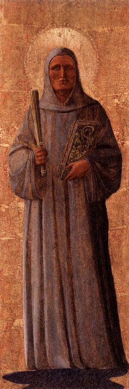 St. Bernard of Clairvaux - Fra Angelico