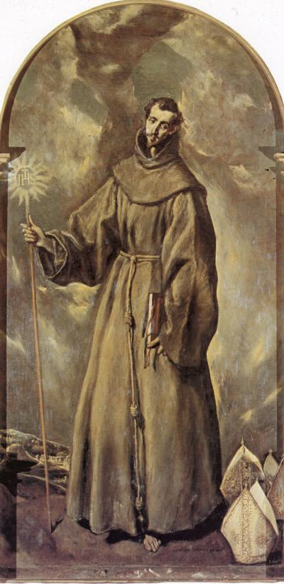 St. Bernardino of Siena - El Greco