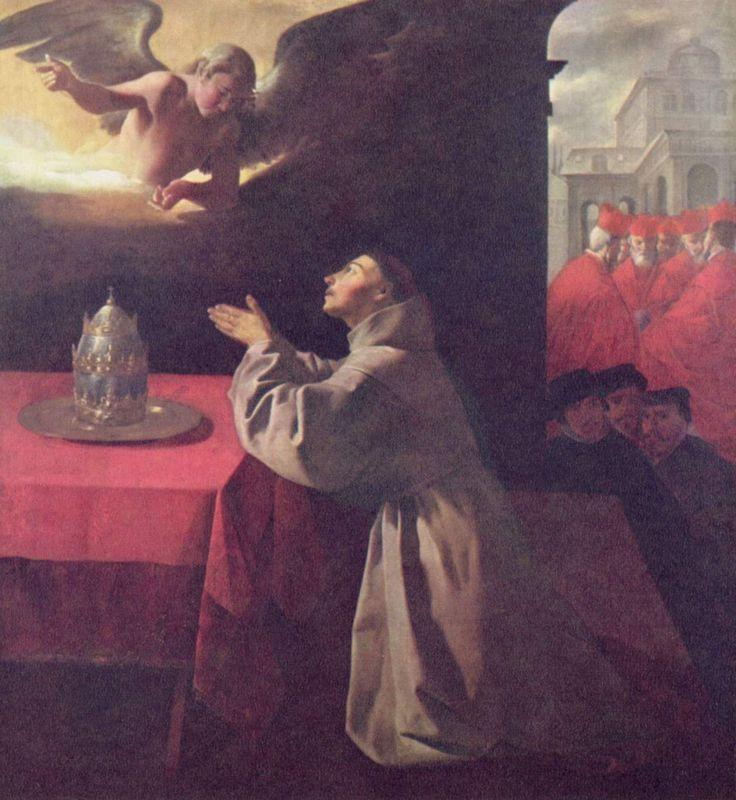 St. Bonaventure - Francisco de Zurbaran