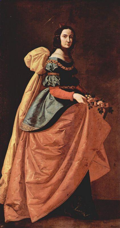 St. Casilda of Toledo - Francisco de Zurbaran