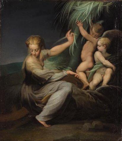 St. Catherine - Lucas Cranach the Elder