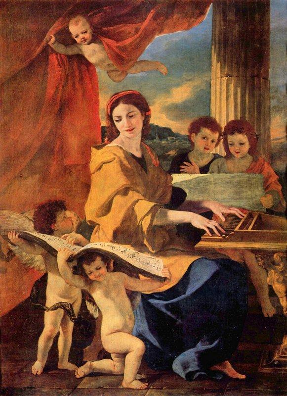 St. Cecilia - Nicolas Poussin
