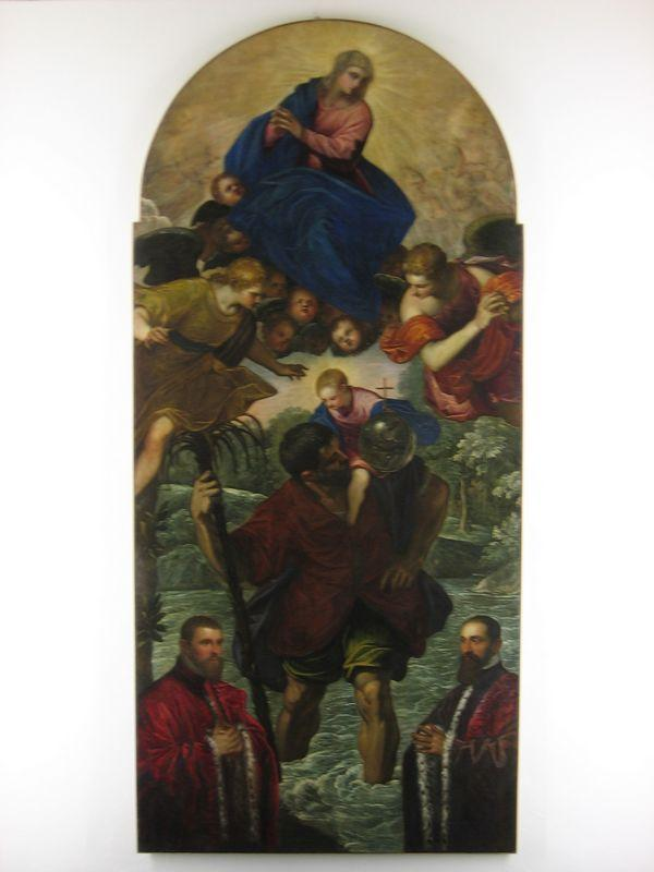 St. Christopher - Konrad Witz