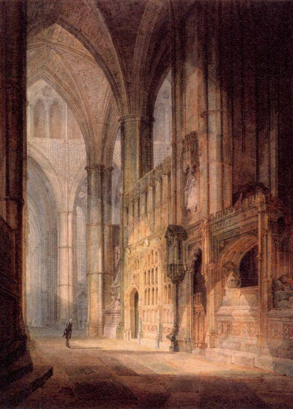 St. Erasmus in Bishop Islips Chapel, Westminster Abbey - William Turner