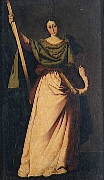 St. Eulalia - Francisco de Zurbaran