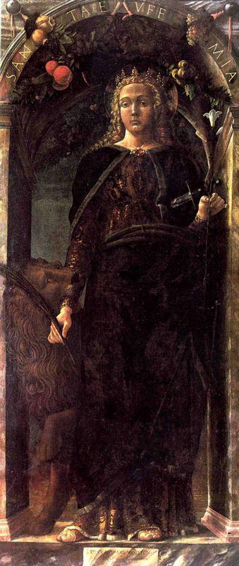 St. Euphemia - Andrea Mantegna