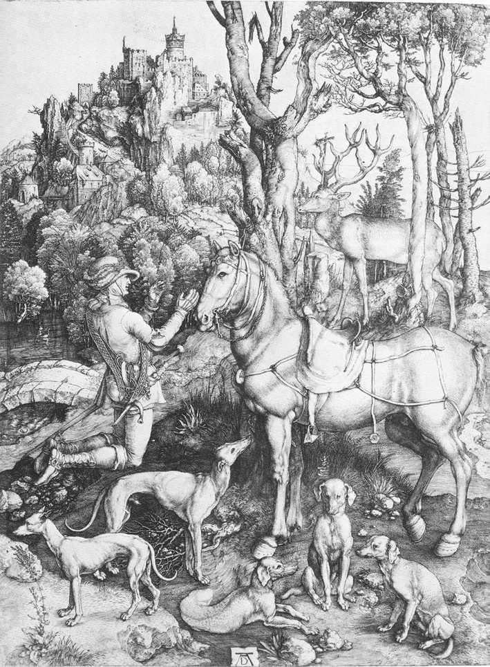St. Eustace - Albrecht Durer