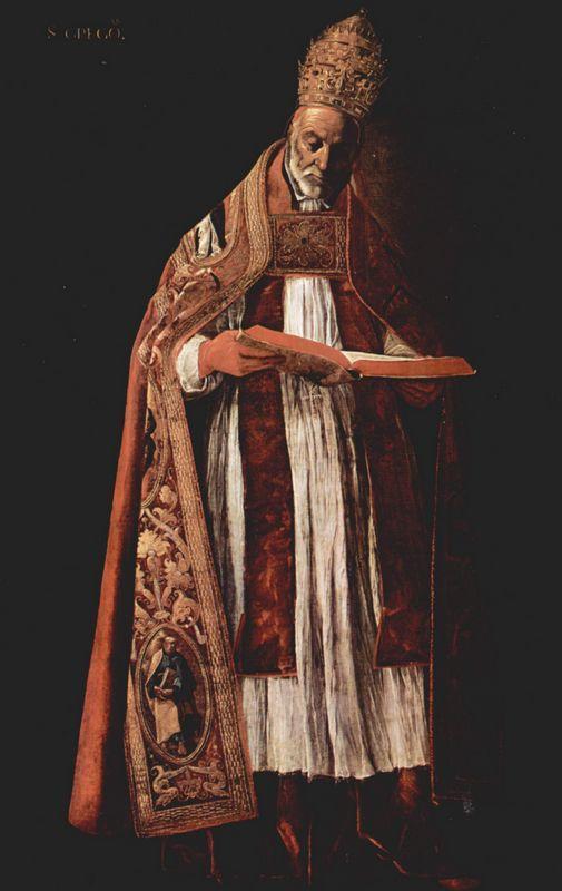St. Gregory - Francisco de Zurbaran