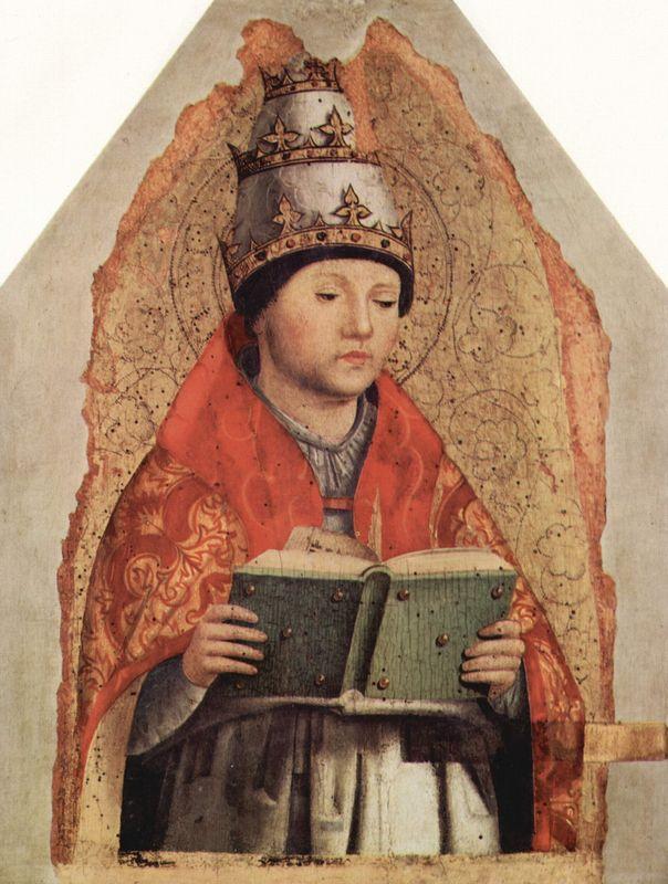 St. Gregory - Antonello da Messina