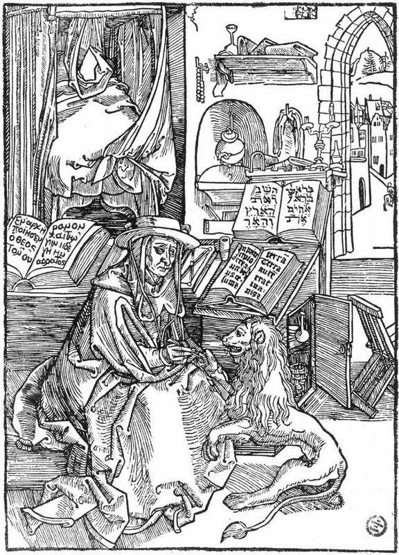 St Jerome - Albrecht Durer