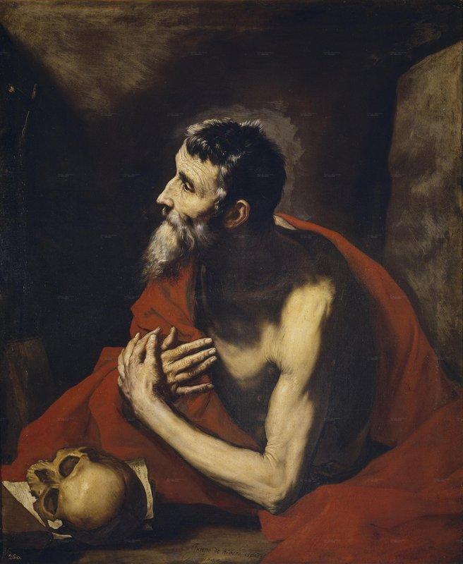 St. Jerome - Jusepe de Ribera