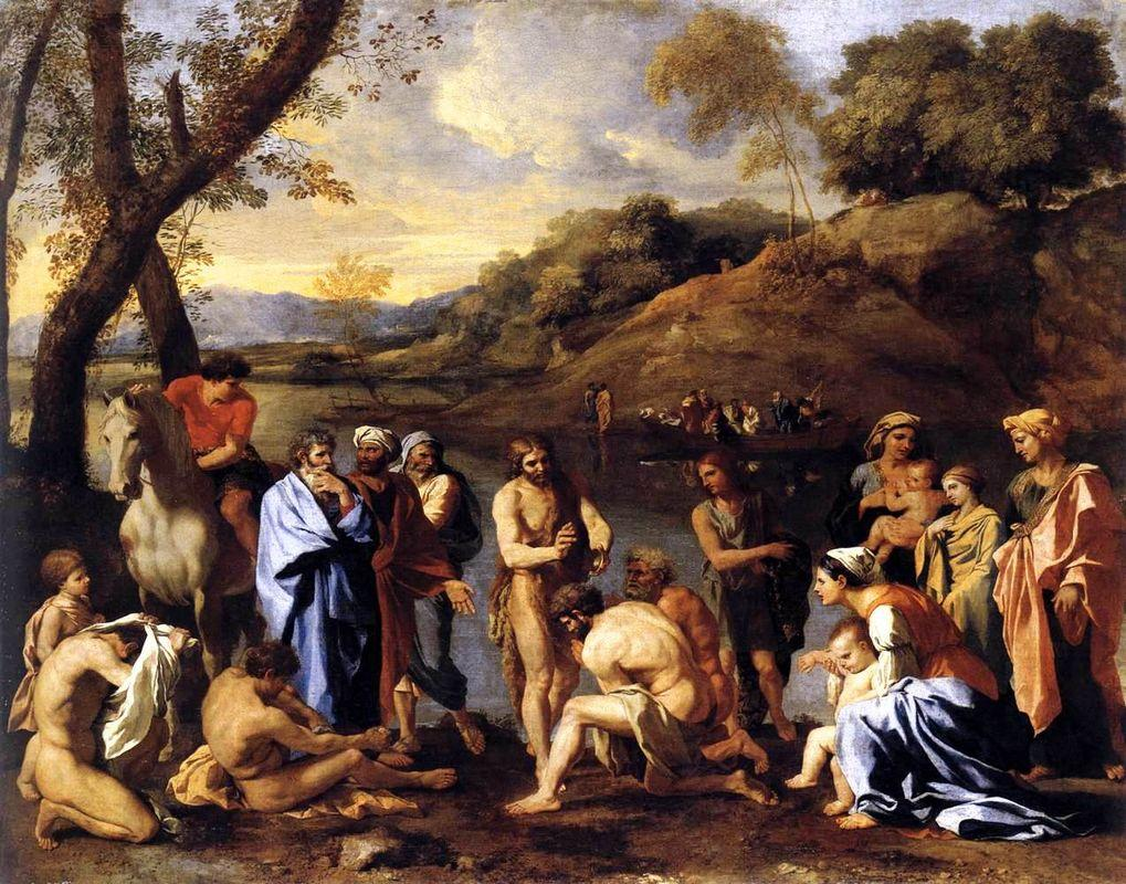 St. John Baptising the People - Nicolas Poussin