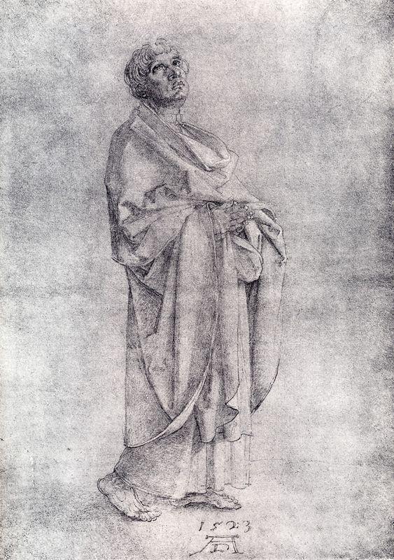 St. John Lamenting - Albrecht Durer